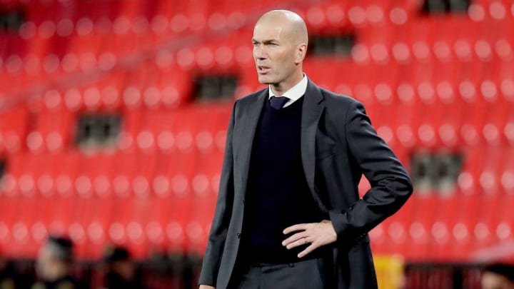 Zinedine Zidane Real Madrid Athletic Bilbao LaLiga