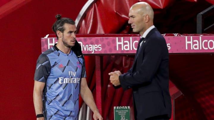 Gareth Bale, Zinedine Zidane