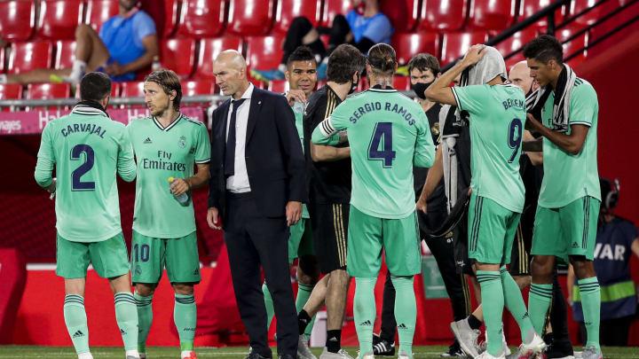 Les leaders madrilènes ont eu une discussion avec Zinédine Zidane.