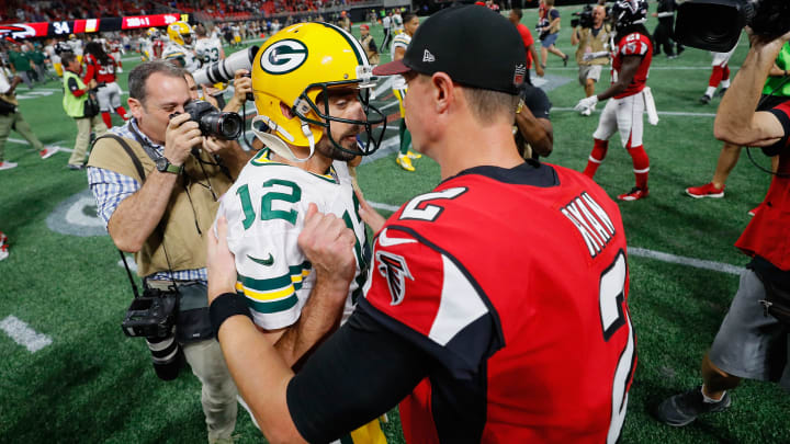 Falcons Vs Packers Spread Odds Line Over Under Prediction Betting Insights For Week 4 Monday Night Football