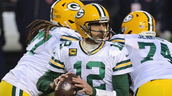 Rodgers comandó a los Packers a tener el mejor récord de la NFC en la temporada 2020-21