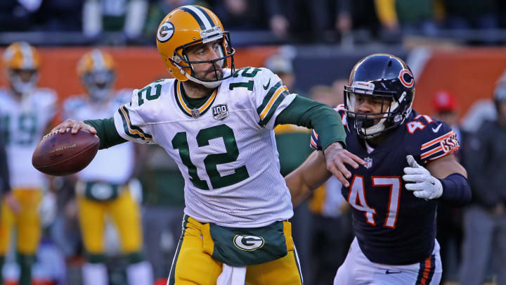 Aaron Rodgers, Isaiah Irving