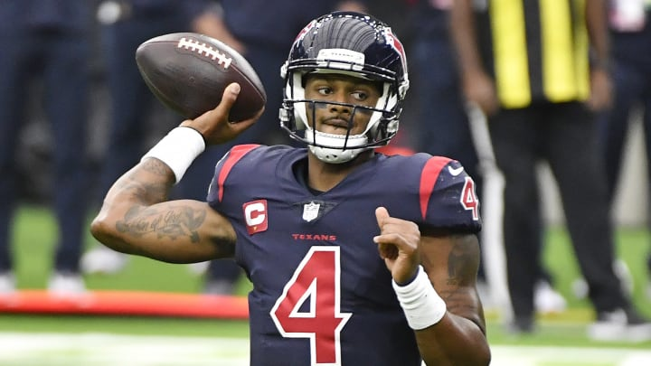 The updated odds on Deshaun Watson points to a surprising trade scenario.
