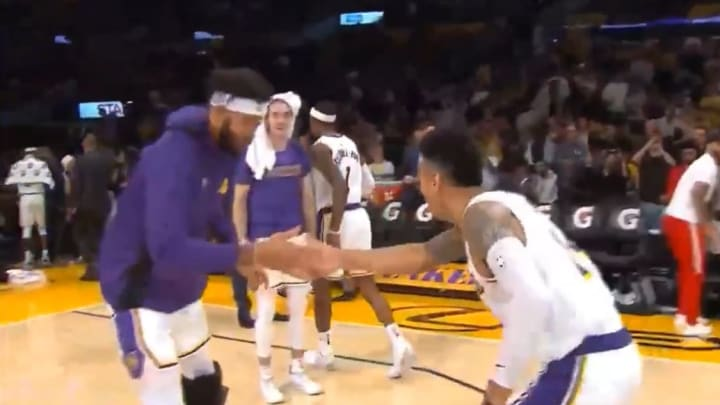 Video Danny Green And Javale Mcgee Might Have The Coolest Handshake In The Nba This Season