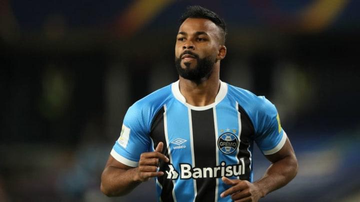 Atacante se despediu do Grêmio em 2017.