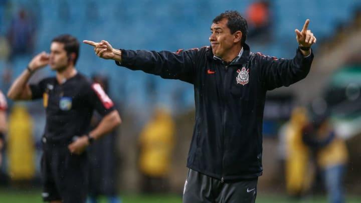 Fabio Carille Corinthians Vagner Mancini Treinador