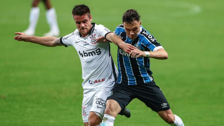 Gremio v Corinthians Play Behind Closed Doors the First Round of the 2020 Brasileirao Series A
