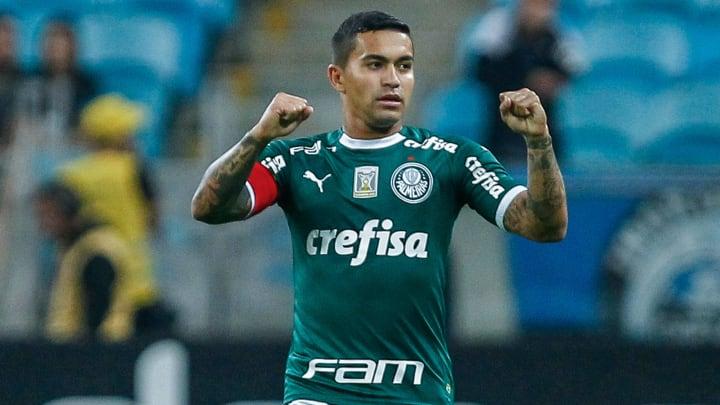 Dudu retomou trabalhos no Palmeiras após temporada no Qatar