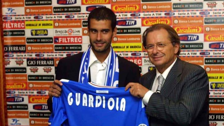 Guardiola fichando por el Brescia