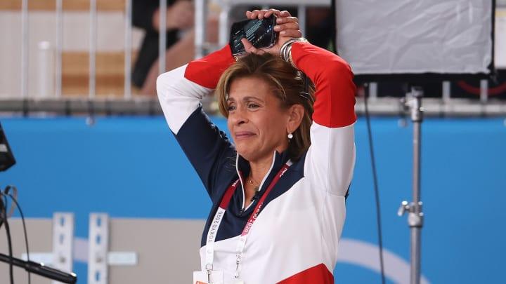 Hoda Kotb at the Olympics.
