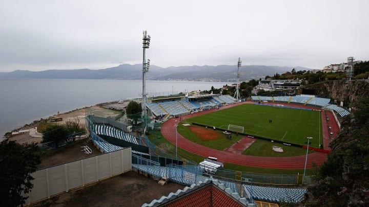 Stadium Kantrida in Croatia