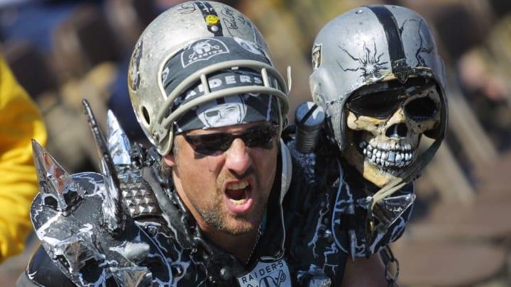 Typical Raiders fan.