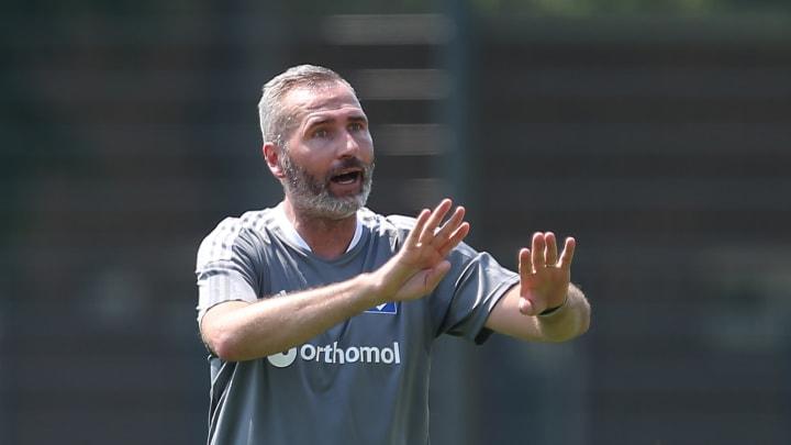 Übernahm Anfang Juli den Trainerposten beim HSV: Tim Walter