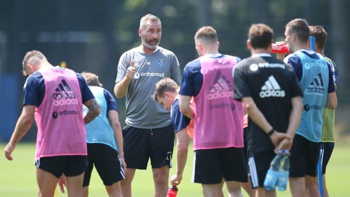 War mit der gestrigen Leistung seines Teams zufrieden: HSV-Coach Tim Walter