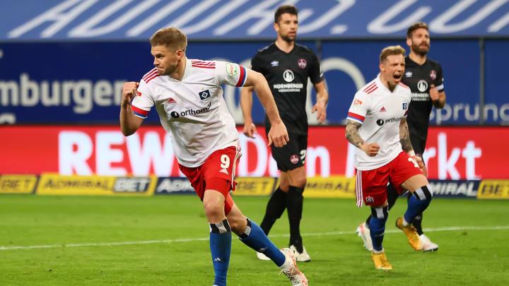 Beim letzten Vergleich beider Teams in Hamburg (5:2) traf Simon Terodde zweimal für den HSV