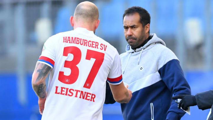 musste früh verletzt runter - Toni Leistner (li.)