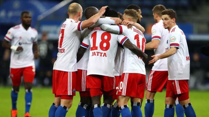 verdiente Führung zur Pause - der HSV geht mit 2:0 in Front