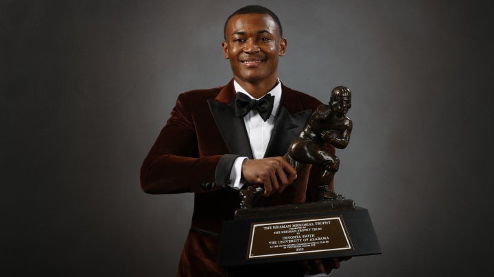 DeVonta Smith should be one of the first two receivers off the board in the 2021 NFL Draft.