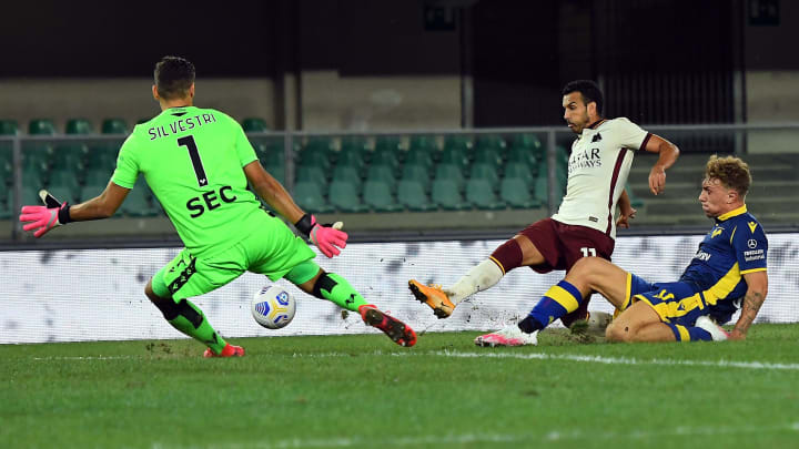 Verona-Roma 0-0, le pagelle giallorosse: Spinazzola super, bene Pedro. Incubo Diawara