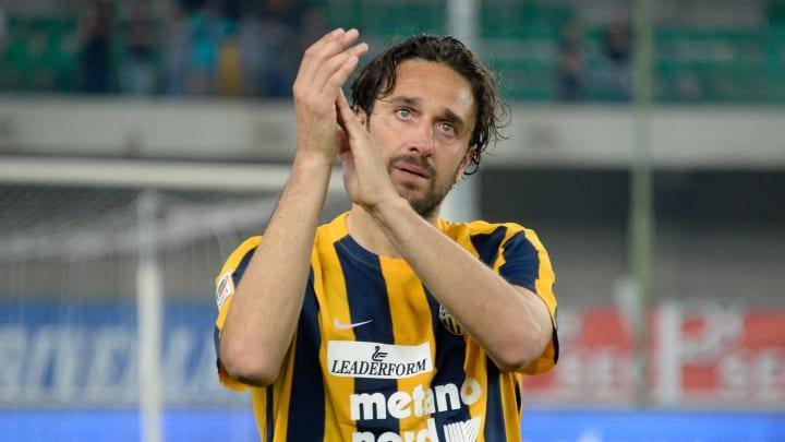 Luca Toni all'Hellas