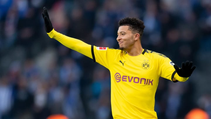 The Jadon Sancho transfer saga appears to be reaching its end