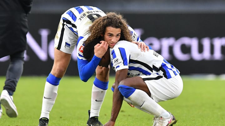 Für Matteo Guendouzi ist im Sommer bei der Hertha Schluss