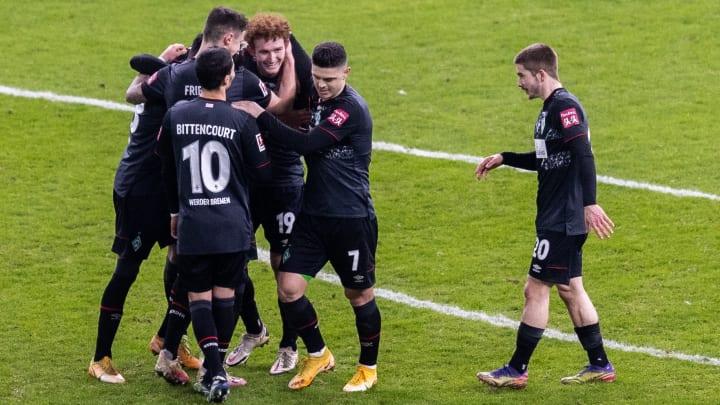 Werder belohnte sich für eine effektive Leistung