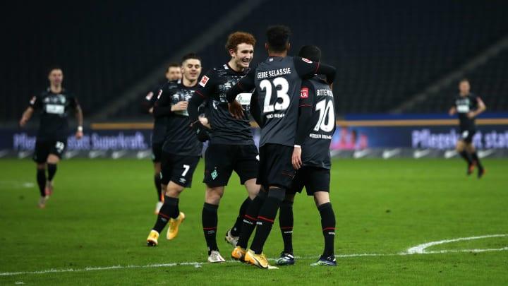 Werder Bremen gewinnt verdient gegen Hertha BSC Berlin.