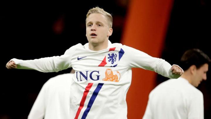 donny van de beek eurocopa holanda