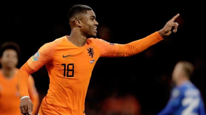 Myron Boadu Holanda Eurocopa