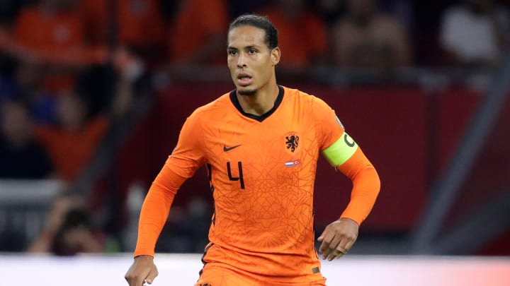 Virgil van Dijk suffered a knock while playing for Netherlands