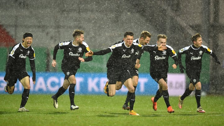 Holstein Kiel beat none other than treble winners Bayern Munich