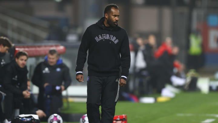 HSV-Coach Daniel Thioune war überhaupt nicht einverstanden mit der Leistung seiner Reservisten