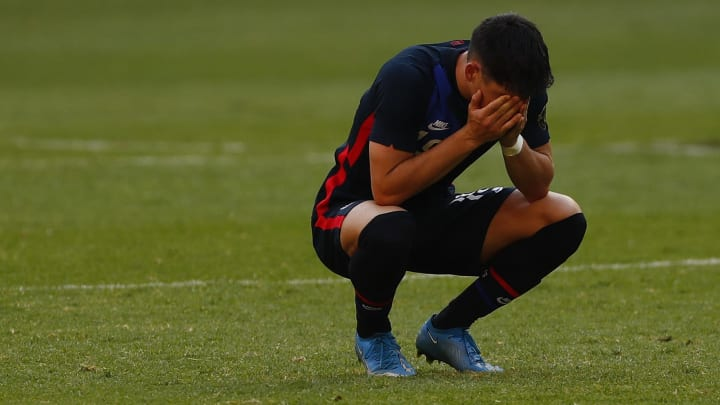 The USA were left in tears after failing to qualify for the Olympics