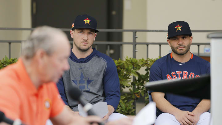 Alex Bregman and Jose Altuve think about what they've done.