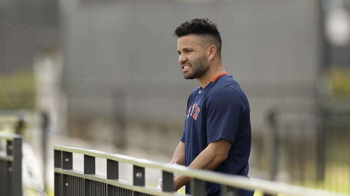 Houston Astros 2B Jose Altuve's new tattoo has been the subject of much discussion this offseason