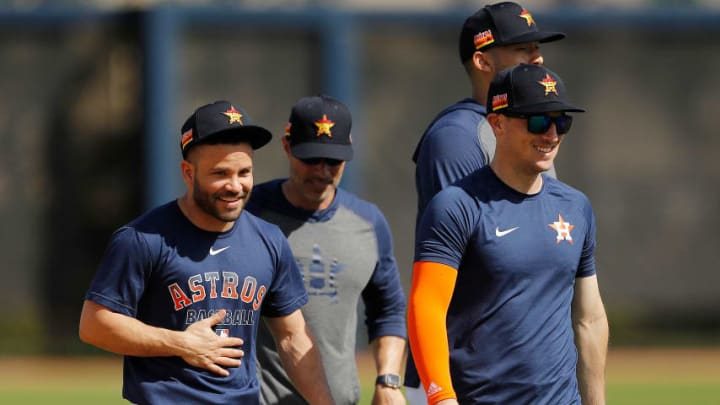 Houston Astros at Spring Training
