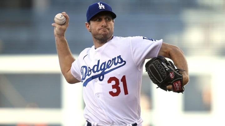 Los Dodgers vieron una gran salida de debut de Max Scherzer