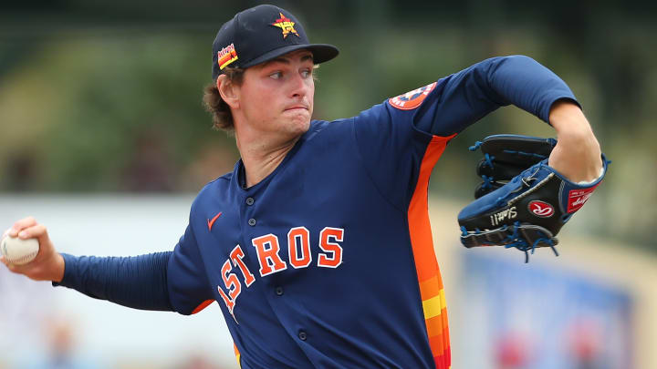 Houston Astros RHP Forrest Whitley