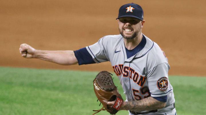 Ryan Pressly a été le chef de l'enclos des releveurs de Houston