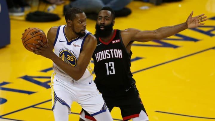 Durant y Harden se reúnen en los Nets tras jugar en el Thunder hace varios años