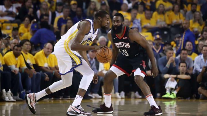 Harden y Durant compartirán equipo en los Nets en esta temporada de la NBA