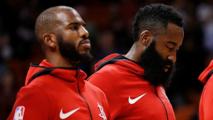 Chris Paul, James Harden, Houston Rockets