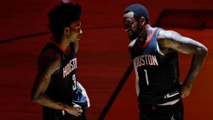 Kevin Porter Jr., John Wall, Houston Rockets