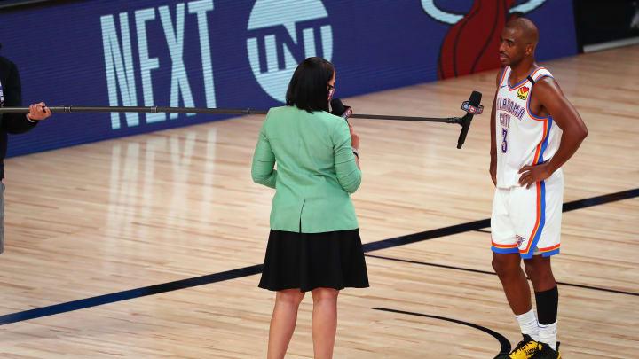 Chris Paul, Houston Rockets v Oklahoma City Thunder - Game Four