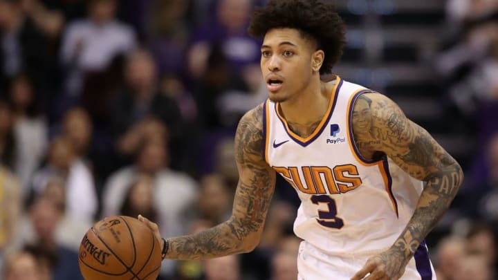 PHOENIX, ARIZONA - FEBRUARY 04:  Kelly Oubre Jr. #3 of the Phoenix Suns handles the ball during the second half of the NBA game against the Houston Rockets at Talking Stick Resort Arena on February 04, 2019 in Phoenix, Arizona. The Rockets defeated the Suns 118-110. (Photo by Christian Petersen/Getty Images)