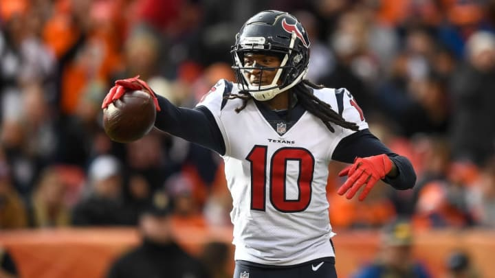 DeAndre Hopkins turned into an NFL star with the Houston Texans.