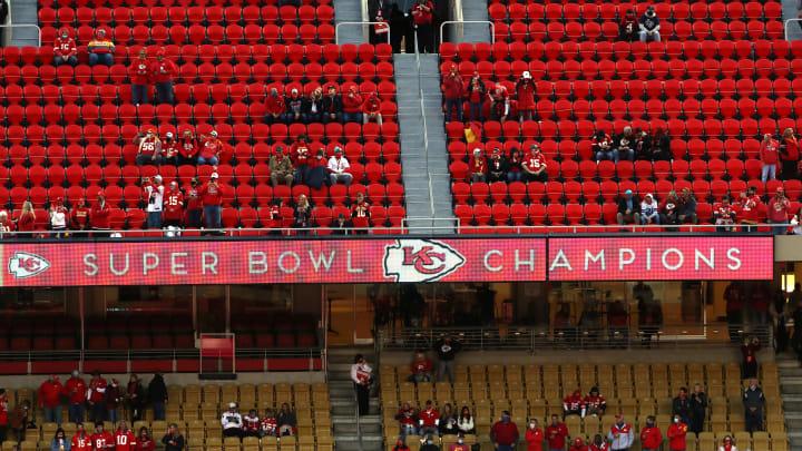 Chiefs fans.