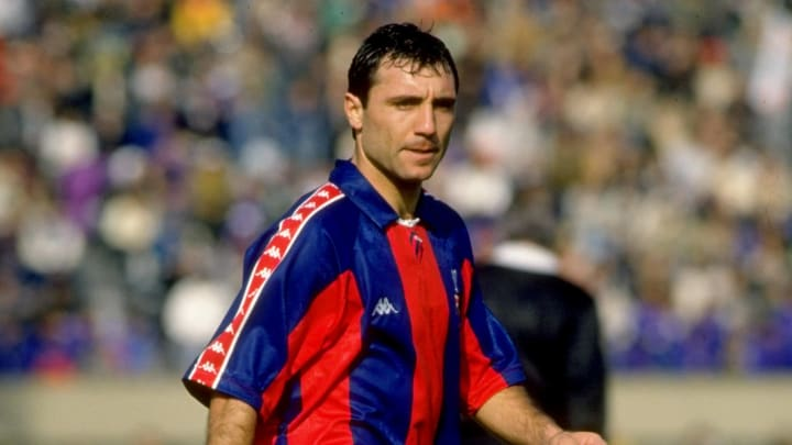 Hristo Stoichkov of Barcelona