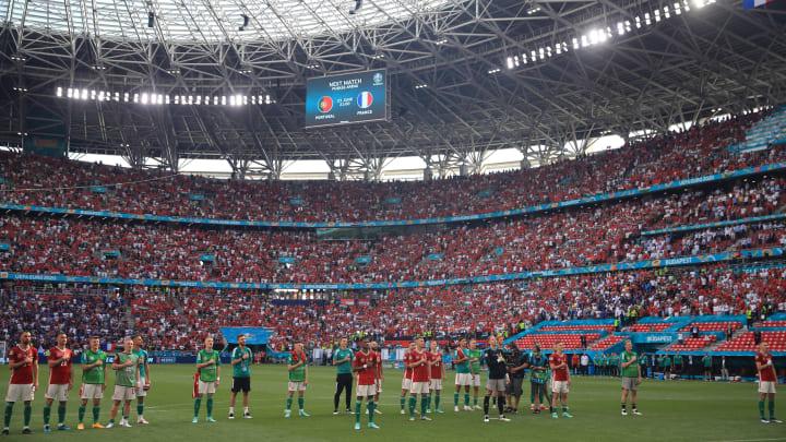 La Puskas Arena dopo Ungheria-Francia
